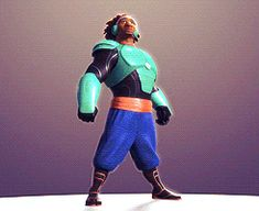 Big Hero 6. Wasabi. I relate a lot to this guy. lol