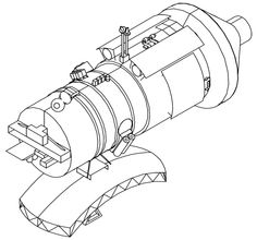 Priroda module drawing - Mir (Raumstation) – Wikipedia
