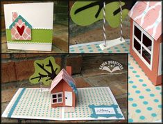 Pop up cards by Karen Burniston.