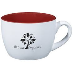 Promote your brand with this custom ceramic mug!
