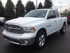 New 2016 Ram 1500 Big Horn Truck Crew Cab Elkhart  Packed with features and truly a pleasure to drive! Comfort and convenience were prioritized within, evidenced by amenities such as: heated seats, heated steering wheel, and much more. Under the hood you'll find an 8 cylinder engine with more than 350 horsepower, providing a smooth and predictable driving experience.