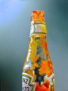 Painting by Tjalf Sparnaay 'Ketchup' 60 x 45 cm olie / doek 2011
