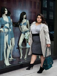 Big Girl in a Skinny World -- a great blog for plus size fashion from Marie Claire