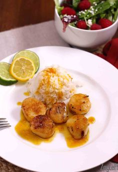 Scallops With Orange Sauce | ZagLeft