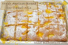 Homemade Apricot Bread Mix