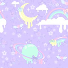 Melty Dream Pattern by MissJediflip.deviantart.com on @DeviantArt