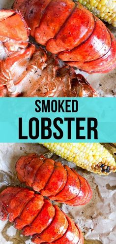 Lobster Tails - Recipe Diaries - Delicious and flavorful smoked lobster tails! Only takes an hour to make on the smoker. -Smoked Lobster Tails - Recipe Diaries - Delicious and flavorful smoked lobster tails! Only takes an hour to make on the smoker. Broiled Lobster Tails Recipe, Grilled Lobster Tails, Bbq Lobster Tails, Bbq Ribs, Barbecue, Pork Ribs, Pulled Pork, Lobster Recipes, Amigurumi