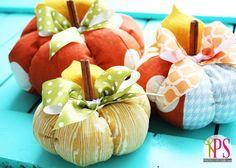 Halloween: Zucche Patchwork imbottite - Tutorial e Cartamodelli.