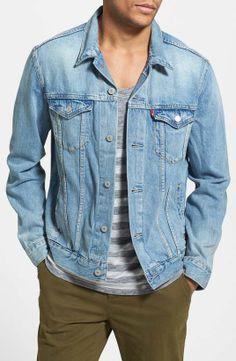 Levi's | Denim Jacket | menswear essential denim jacket #levis #denim #jacket