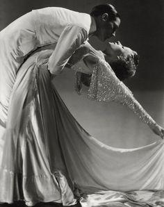 Dance team Jack Holland and June Hart, 1935, Vanity Fair // Photo by Horst P. Horst