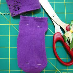 Step-1-Cut-up-the-sock-into-desired-size