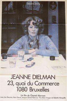 Jeanne Dielman, 23 Quai du Commerce, 1080 Bruxelles 1975 - Chantal Akerman. to watch