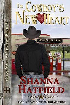 The Cowboy's New Heart (Grass Valley Cowboys Book by [Hatfield, Shanna] Books To Read, My Books, Grass Valley, Bull Riders, Thing 1, New Heart, Newly Married, Hopeless Romantic, Bestselling Author