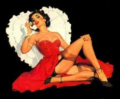 Valentines Day Pin-Ups | Vintage Folly