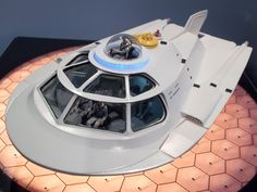 """Mark took his own """"Fantastic Voyage"""" in building Crow's Nest Models' 1/48 scale Proteus from the 1966 movie."""
