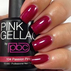 Pink Gellac is a high-quality European brand of gel nail polish that lasts weeks. The gallery below shows the full range of colors. Pink Gellac can be purchased in North America at Chickettes Bo… Pink Gel Nails, Gel Nail Polish Colors, Nail Colors, Soak Off Gel, Professional Nails, Natural Nails, Starters, Red And Pink, Swatch
