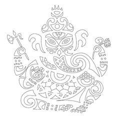 Ganesha Stencil Pictures 12