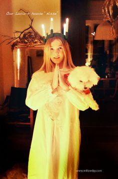 Lucia in Sweden //willowday//