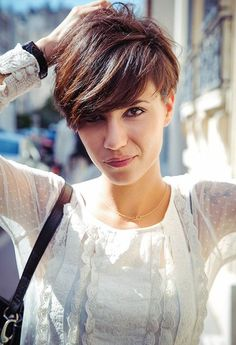 Cute Short Hairstyles with Bangs 2014