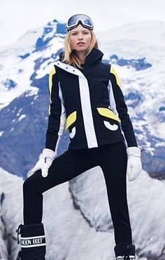 Dark blue goggles and Jacket (ASW)