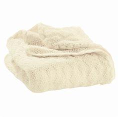 Babytæppe økologisk uld, natural