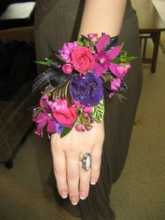Prom corsage created by Lexington Floral in Shoreview, MN.    #flowers #corsage