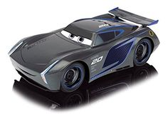 "Disney Cars 203084005S02 ""Cars 3 Turbo RC Racer Jackson Storm"" Toy"