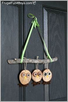 My Owl Barn: Owl Tree and Door Hanging Tutorial