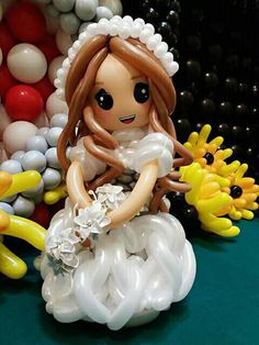 Balloon Face, Balloon Dress, Balloon Flowers, Twisting Balloons, Bubble Balloons, Balloon Animals, Wedding Balloons, Baby Shower Centerpieces, Balloon Decorations