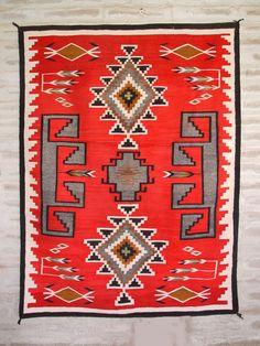 Historic Navajo Ganado Rug