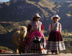 Jeunes filles Pérou