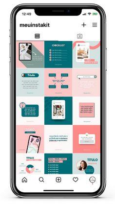 Instagram Feed Planner, Feeds Instagram, Instagram Blog, Instagram Posts, Social Media Page Design, Instagram Post Template, Book Design Layout, Instagram Design, Social Media Template