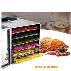 230.85$  Buy here - http://ali771.shopchina.info/go.php?t=32805702757 - 220V 6 Layers Electric Stainless Steel Fruit Meat Vegetable Herb Dryer Food Dehydrator Machine Energy Saving  #magazineonlinebeautiful