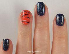 auburn+nail+art | nail art auburn acid wash glitter nail art auburn acid wash nail art ...