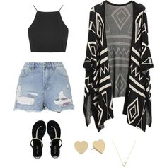 Boho by bibkaro on Polyvore featuring polyvore fashion style Topshop Miss KG Kate Spade Wanderlust + Co