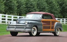 Gooding & Co. -  1948 Chrysler Town & Country Convertible