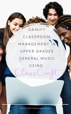Gamify Classroom Management in Upper Grades General Music using ClassCraft Importance Of Time Management, Elementary Music, Upper Elementary, Online Programs, Online College, Music Classroom, Music Education, Student Work, Classroom Management