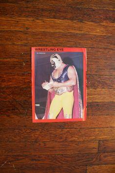 Mil Mascaras Vintage Wrestling Photo Pinup. Rare by ElevatedWeirdo