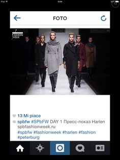 Official post of the #spbfw for the #catwalk of the Russian brand #harlem where our #gloves were chosen as #accessories to complete the outfit