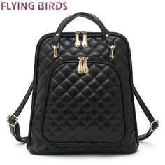 2dc27ffb35d4 FLYING BIRDS женщины рюкзак повседневная daypacks Рюкзаки женщин кожа сумка  женская девушки школьные сумки на ремне женская сумка LM4445fb купить на ...