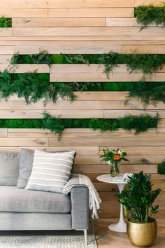After the first location of MNDFL in the Washington Square Park area, living plant walls became a signature of the brand. These beauties were provided by the Sill and Artisan Moss.