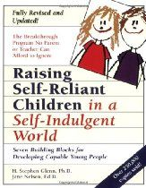 Raising Self-Reliant Children in a Self-Indulgent World: Seven Building Blocks for Developing Capable Young People, a book by H. Stephen Glenn, Jane Nelsen Ed. Parenting Books, Parenting Teens, Jane Nelsen, Books To Read, My Books, Yoga For Kids, Copics, Self Esteem, Reading Lists