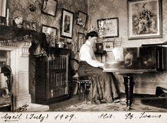 vintage everyday: Victorian and Edwardian Interior – 38 Rare Photos Show Everyday Life of People in Their Houses Over 100 Years Ago