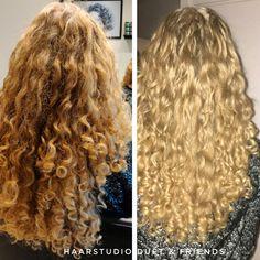 Voor na, before after, krullenknippen. Krullen geknipt bij krullenkapper Haarstudio DUET & friends te Hengelo. hairstyles. Na het krullenknippen haar krullen verzorgd met eigen CG producten, echt een prachtig resultaat. Dit is natuurlijk krullend haar, geen permanent en NIET geknipt met de Curlsys methode van Brian Mclean, model is geknipt door krullenkapper, krullenspecialist, allround hairstylist. Marjan van Haarstudio Duet & friends in Hengelo. www.haarstudioduet-friends.nl Curl Curl, Curled Hairstyles, Popular Pins, Naturally Curly, Hairdresser, Most Beautiful Pictures, Curls, Stylists, Long Hair Styles