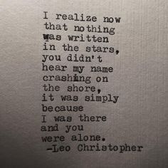 Leo Christopher, Names, Writing, Being A Writer