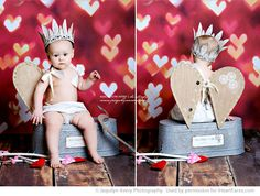 love the pretty antiqued crown and sweet linen wings on this little darling cupid! Themed Photography, Photography Mini Sessions, Toddler Photography, Love Photography, Photo Sessions, Valentine Mini Session, Valentine Picture, Valentines Day Pictures, Holiday Pictures