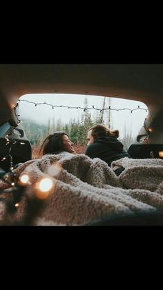 Camper van engagement shoot for adventurous couples who love being outside in nature.