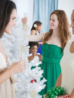 12 Christmas Party Themes, you probably haven't though of yet! **My favorite: Trim my Tree Gathering :)