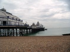 Eastbourne Pier, UK. August 2012