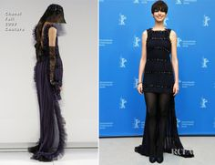Anne Hathaway In Chanel Couture – 'Les Miserables' Berlin Film Festival Photocall & Premiere